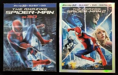 The Amazing Spider-Man (3D, Blu-Ray, and DVD, NO Digital Copies)