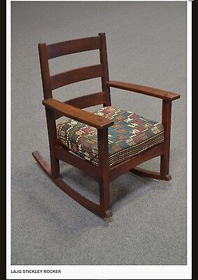 L&JG Stickley Rocker Chair