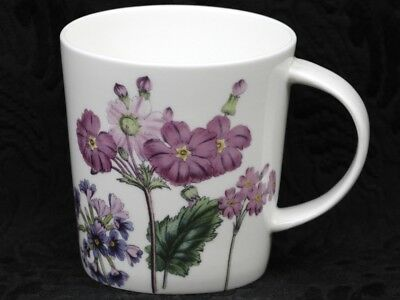 STECHCOL GRACIE PURPLE PRIMULA Bone China V Shape Mug