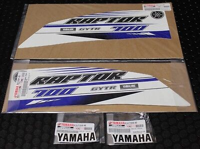 Yamaha Raptor 700 Decals Graphics Kit Stickers GENUINE YAMAHA STOCK OEM GYTR  #5