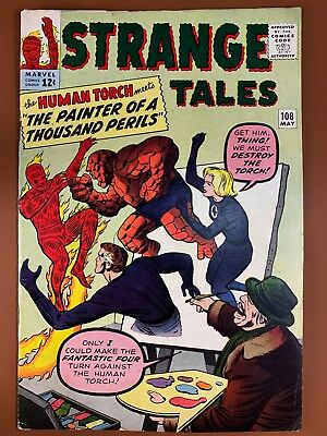Strange Tales #108 (1963 Marvel) Human Torch appearance Silver Age NO RESERVE