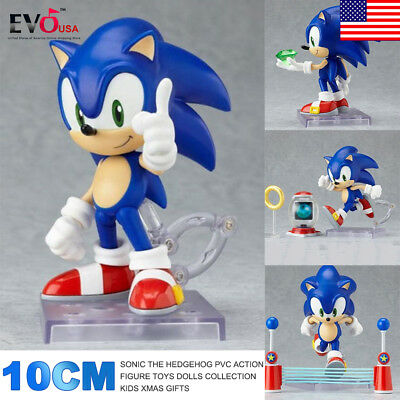 10cm Sonic The Hedgehog PVC Action Figure Toys Dolls Collection Kids Xmas Gifts