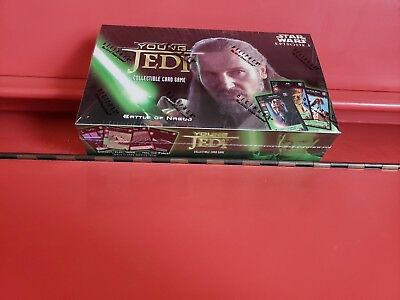 YOUNG JEDI 'Battle of Naboo' Booster BOX - Sealed