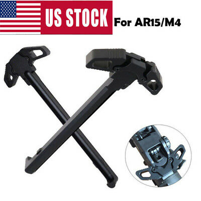 Portable Butterfly Style Metal Charging Cocking Handle For M4 AR15 series US
