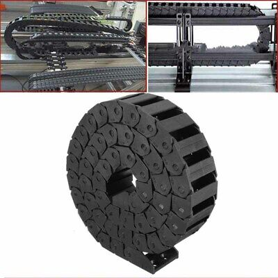 1M 15x30mm R38 Nylon Drag Chain Wire Towline Carrier Cable Track CNC Router AU