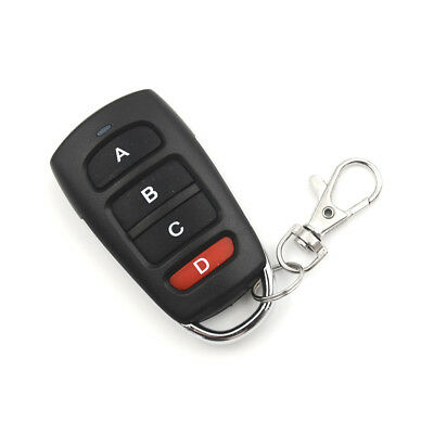4 Buttons 315mhz Cloning Garage Door Remote Control Key Fob 433mhz Universal  SP