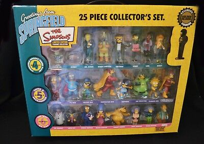 The Simpsons 25 Piece Collector's Set 4, 5 & 6  Figurines Limited Edition 2007