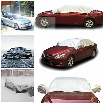 L Half Car Cover Top Roof Sun UV/Rain Protection Waterproof Outdoor Universal