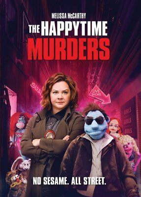 The Happytime Murders (DVD, 2018) - Brand New!