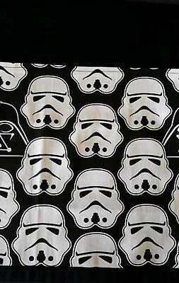 School chair bag star wars on black Free first name.  Free postage.