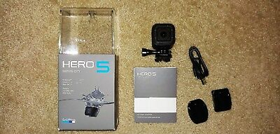 GoPro Hero5 Session HD Action 4K Voice Control Waterproof w/32GB storage card