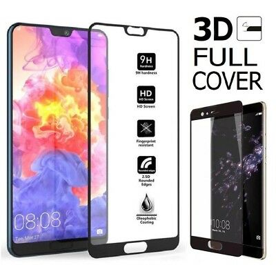 Full Cover Tempered Glass Screen Protector For Huawei P SMART/P20/P20 PRO/LITE ~