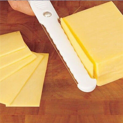 Cheese Slicer Thick & Thin Slices Double Sided Fast Hard Soft Cutter Butter Egg