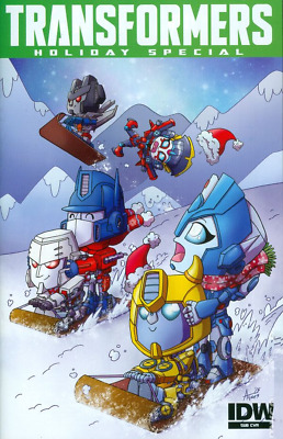 Transformers Holiday Special #1 Cover B