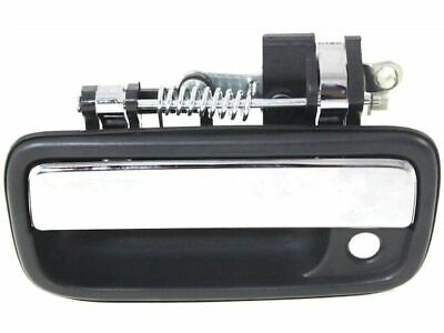 1x Exterior Outer Door Handle Front Left Black 91319 Fit 1995-04 Toyota Tacoma