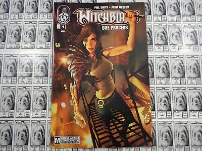 Witchblade Due Process (2010) Top Cow/Image - #1, One-Shot, Smith/Urusov, VF