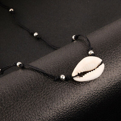 Women Simple Beach Sea Shell Pendant Chain Necklace Jewelry Gift TO