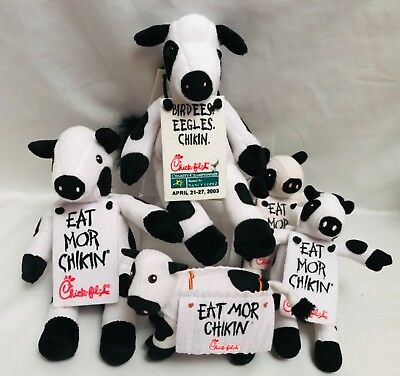 CHICK-FIL-A *Choose Your Toy* Various COW Eat Mor Chickin Plush Stuffed Animal