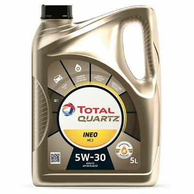 Motoröl TOTAL Quartz INEO MC3 5W30, 5 Liter