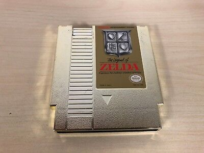 The Legend of Zelda Gold Nintendo NES Game Cartridge Original Cart Very Good