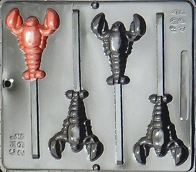 Lobster Lollipop Chocolate Candy Mold 296 NEW