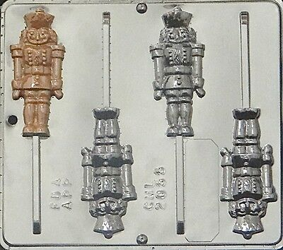 Nutcracker Lollipop Chocolate Candy Mold Christmas 2055 NEW