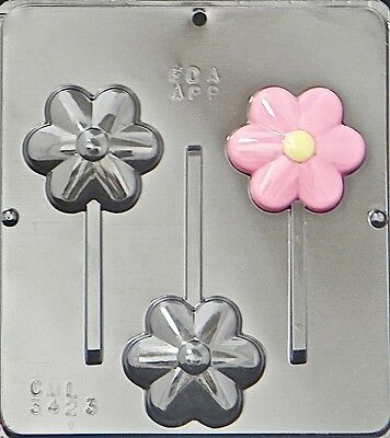 Flower Lollipop Chocolate Candy Mold 3423 NEW