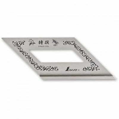 Shinwa 62103 Japanese Mitre Square Carpenters Square 45 & 135 Degrees
