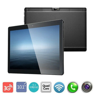 10.1 inch Tablet PC 4GB+64GB Octa-Core Android 7.0 WIFI GPS Phone Wifi Phablet