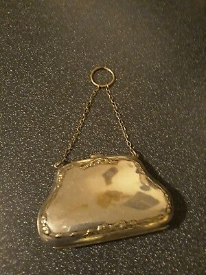 Victorian Silver Plated Lady's Purse