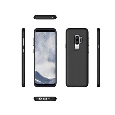 Armor Rugged Shockproof TPU+PC Case Cover For Samsung Galaxy S7 Edge S8 S9 Plus