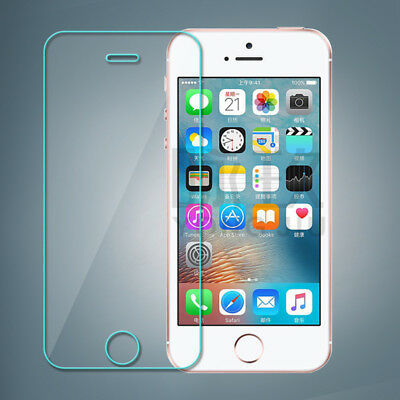 For Iphone 5 Case Se 5S 5C  Hq Premium Real Tempered Glass Screen Protector