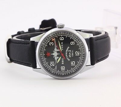 RAKETA 24 Air Force of the Red Army Stormtrooper Il-2 wristwatch, cal. 2623