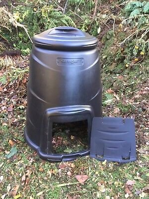 Straight Quality 220 ltr Compost Bin New