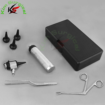 Double Lens Operating OTOSCOPE Diagnostic Set Veterinary Surgical Kit