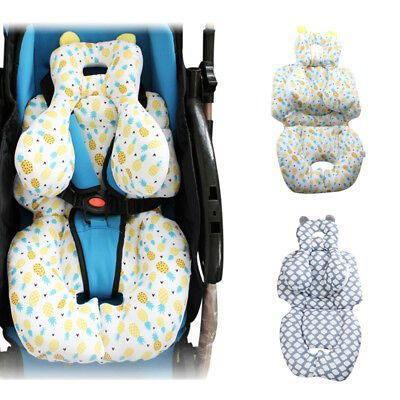 Safe Baby Stroller Pram Car Seat Cushion Pad Liner Head Body Support Pillow Mat
