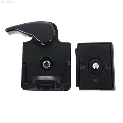 Quick Release Adapter For Camera DSLR with 200PL-14 QR Plate Black