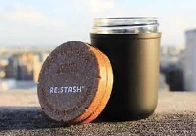 Re-Stash Jars Glass Manson Curing Jars 7G - 14G Uv Child Safe Press It In Tin
