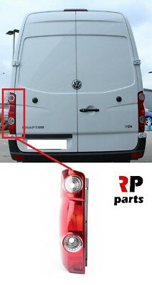 On Rear Light Tail Back Lamp Pair Set O//S N//S Right Left Vw Crafter 2017
