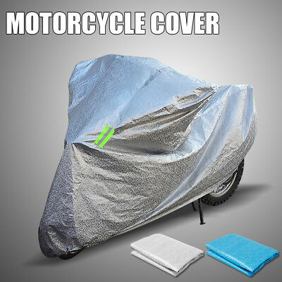 XL Aquatex Motorcycle Waterproof Outdoor Cover Large Motorbike Scooter Silver G5