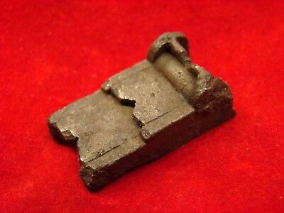Dug Richmond Rifle Musket Long Range Flip Sight Found In A Confederate Camp