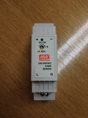 Meanwell DR-15-5 Power Supply 12W 1PH (85-264VAC) 5VDC 2.4A 000700