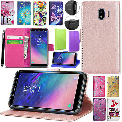 For Samsung Galaxy Grand Prime Pro / J2 Pro 2018 J250F Leather Wallet Cover Case