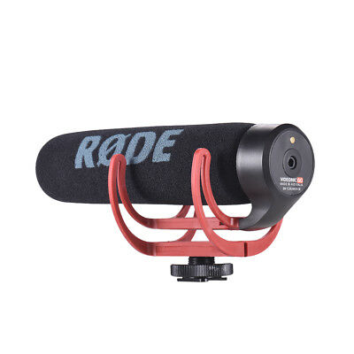 Rode VideoMic Go Microphone For DSLR Cameras With Rycote Lyre Shock Mount 73g