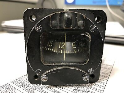 Used Surplus Magnetic Aircraft Standby Compass AN5766-T4 / Airpath CB-2100-T4