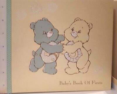 Babys Book Of Firsts ' Care Bears Photo & 1st Year Achievements Album Boxed NEW