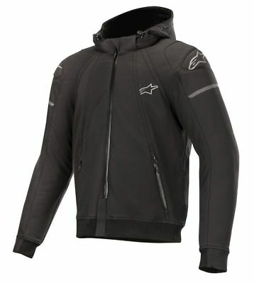 Alpinestars SEKTOR Tech Motorcycle/Motorbike Casual look Sports Hoodie-Black