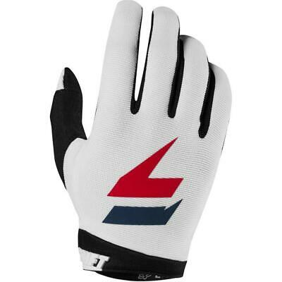 Shift 2019 WHIT3 Dirt Bike Motocross Riding Air Gloves - White