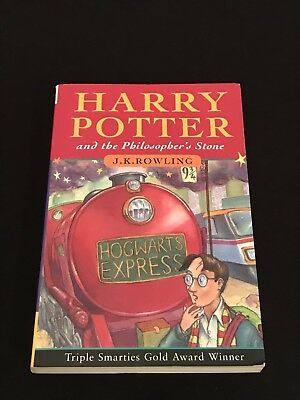 1st Edition, 45th Print U.K. Softcover Harry Potter and the Philosopher's Stone