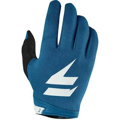Shift 2019 WHIT3 Dirt Bike Motocross Riding Air Gloves - Blue